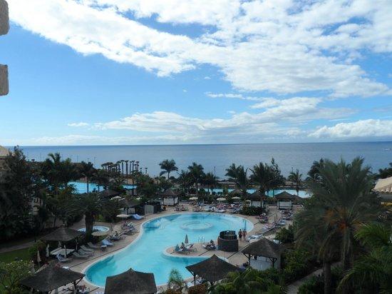 Gran Melia Palacio de Isora Resort & Spa: sea view from Leisure area