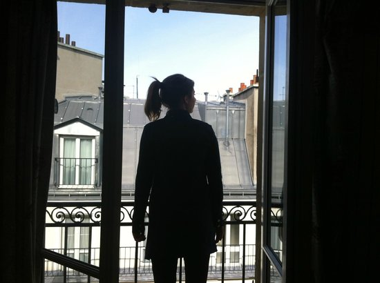 Le Petit Belloy Saint-Germain by HappyCulture: View from 5th floor