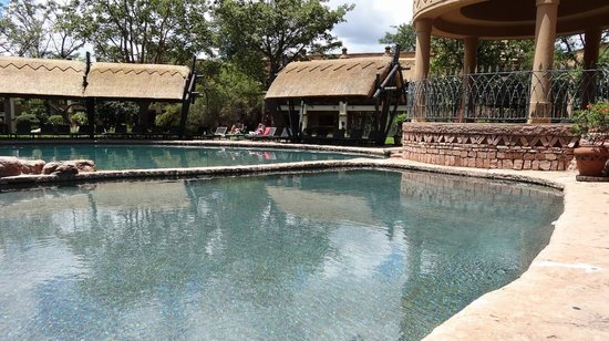 The Kingdom at Victoria Falls: pool area
