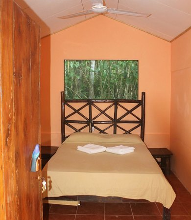 Martina's Place Hostel: Honeymoon cabin- small but cozy... $60 for 2 per night