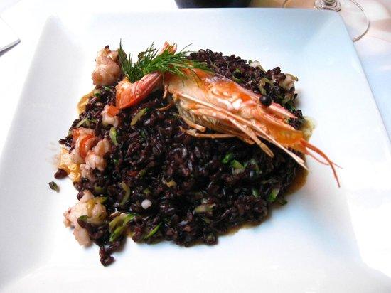caffe universale: 海鮮黑米飯