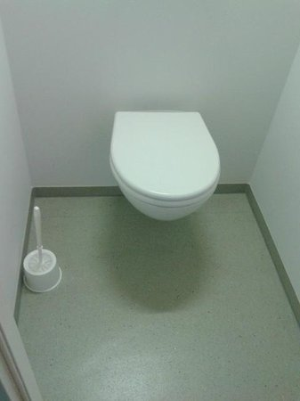 Ibis Budget Nuernberg City Messe: WC ist zur Dusche getrennt