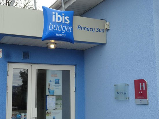 Ibis Budget Annecy : ENTREE