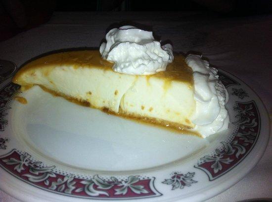 Sidreria Casa El Rubiu: Tarta de queso Casa El Rubiu