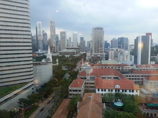 Carlton Hotel Singapore: premiere room view -15th floor