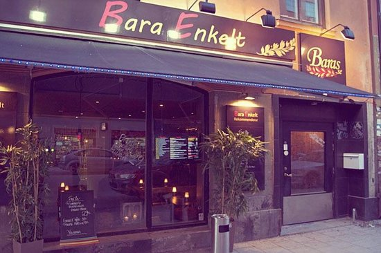 Photo of Modern European Restaurant Bara Enkelt at Skånegatan 59, Stockholm 116 37, Sweden
