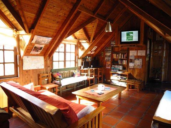 Alaska Hostel: Sala de Estar