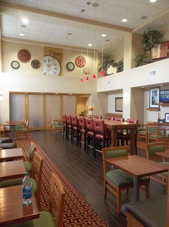 Hampton Inn & Suites Walla Walla : Breakfast room