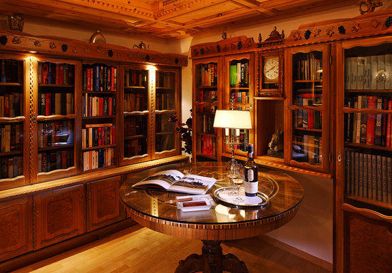 Schlosshotel Chaste : Bibliothek