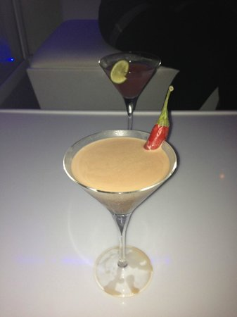 The Penthouse: Chilli Chocolate Cocktail!