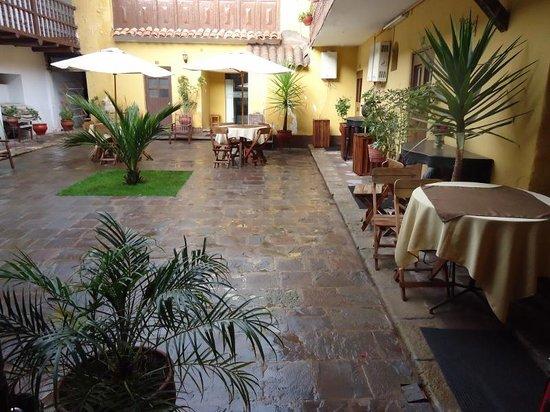 Hostal Quipu Cusco: Patio interior