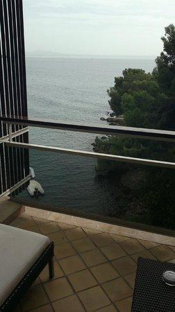 Melia Palas Atenea: Vista desde la terraza de la habitación