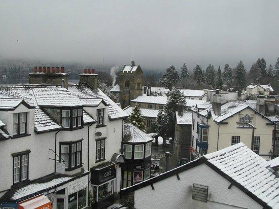 Royal Oak Inn: View from room 2