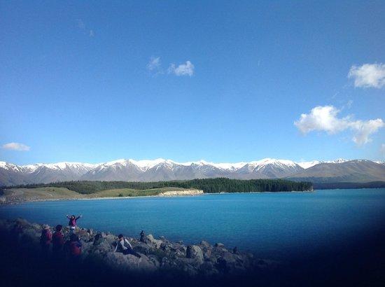 Sir Edmund Hillary Alpine Centre : Views en route to Mount Cook