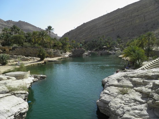 Ruwi, Oman : Beautiful wadi's