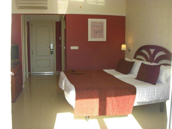 Hotel Los Arcos: la camera dal balcone