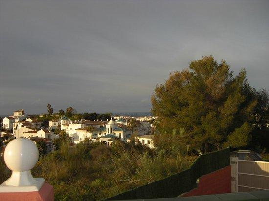 Hotel Los Arcos: panorama dal terrazzo