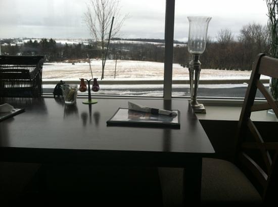 Bean Bath Cafe: great views!!