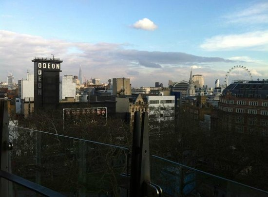 The Penthouse: The view that afternoon.