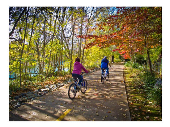 Rent or bring your own bike and explore the River Trail in Redding, CA