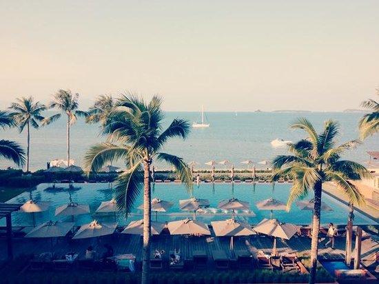 Hansar Samui Resort : view frm balcony