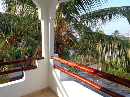 Hotel Galapagos Suites: Balcón. Vista.