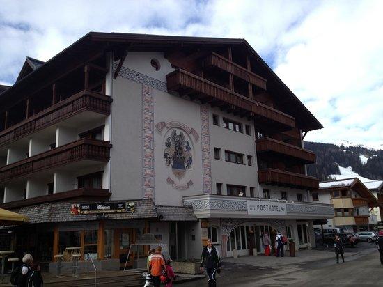 Geigers Posthotel: Lage im Dorfzentrum