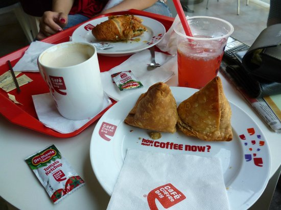 Cafe Coffee Day Average Meals Served