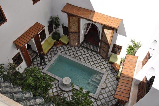 Riad Zineb: riad du haut de la terrasse