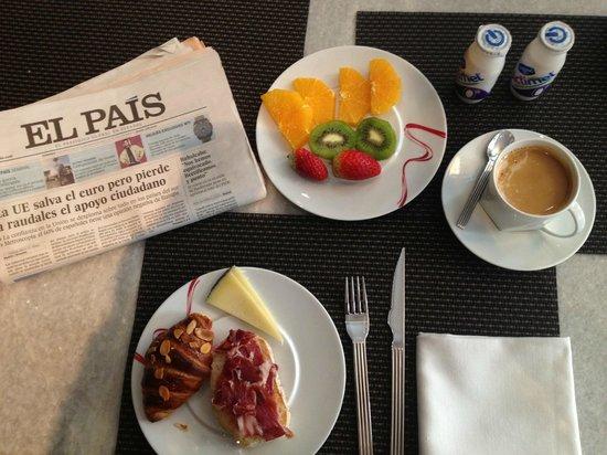 Hotel Unico Madrid: Desayuno