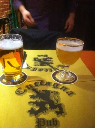Pub Cuccagna: Le birre