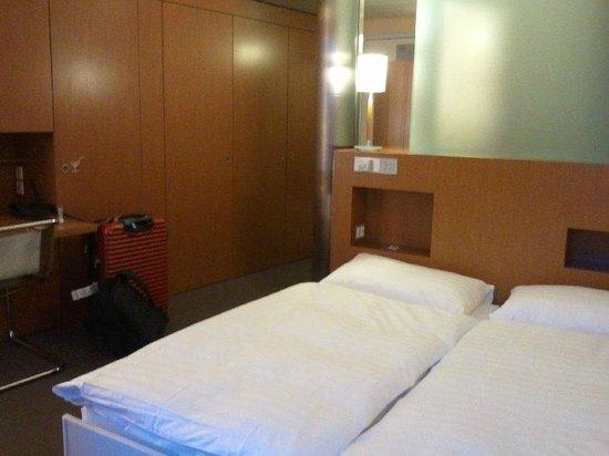Cornavin Hotel Geneva: Double room
