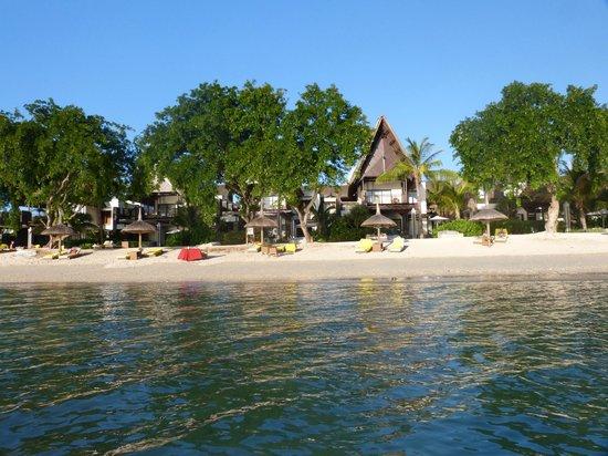 Angsana Balaclava Mauritius: plage de l'hotel