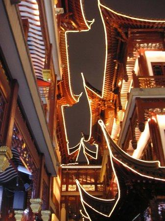 Renaissance Shanghai Yangtze Hotel: Night view in Shanghai