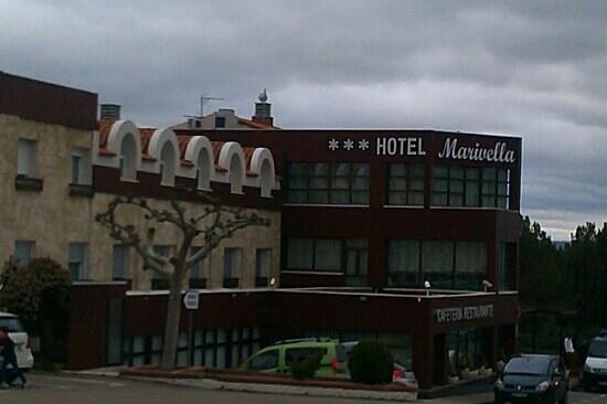 Calatayud, Spania: hotel sencillo pero muy cómodo