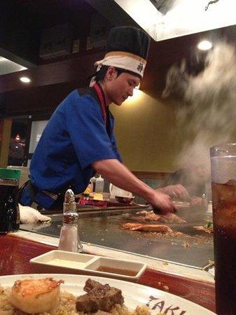Taki Japanese Steakhouse: Best chef ever!