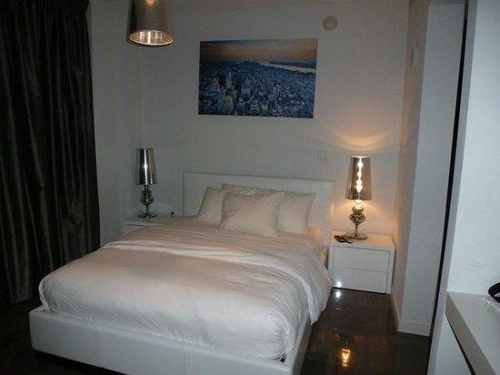 Boulan South Beach: cama comoda pero chica