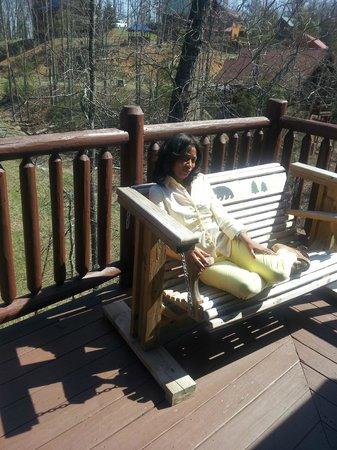 Elk Springs Resort: Patio