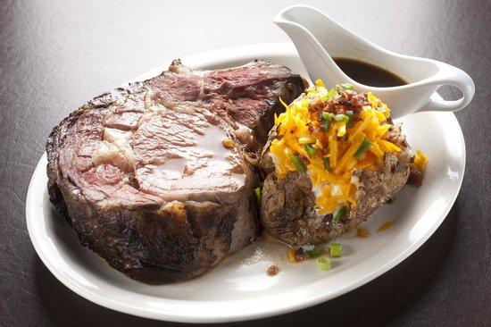 Fire & Oak - Montvale: King Cut Prime Rib with Loaded Jumbo Baked Potato