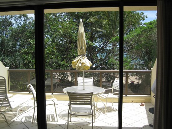 Seahaven Noosa: fabulous balcony with BBQ
