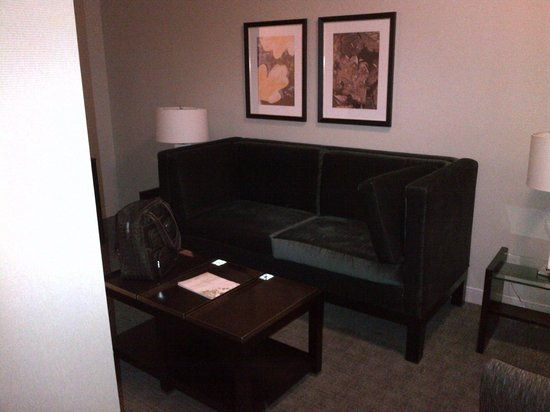 Le Westin Montreal: Dark TV Room