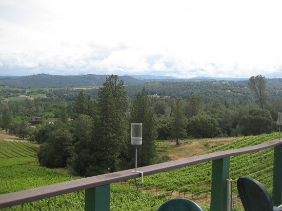 Fitzpatrick Winery and Lodge : View from deck
