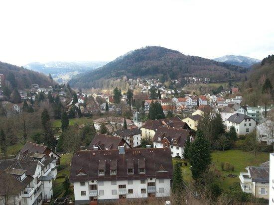 Schwarzwald Panorama: Blick vom Balkon 4.Stock