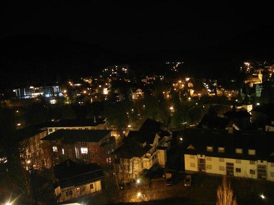 Schwarzwald Panorama: Bad Herrenalb bei Nacht