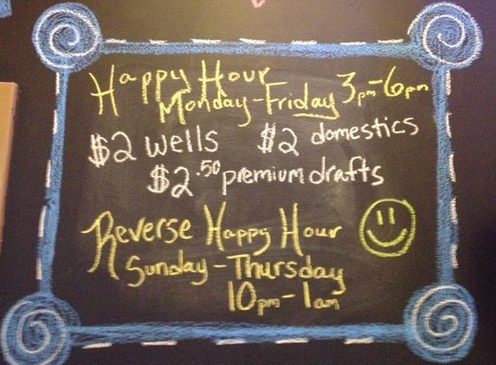Johnny's Tavern: Happy Hour