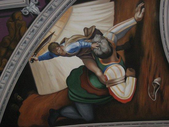 English Martyrs Catholic Church: David and Goliath