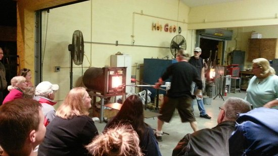 Industrial Arts Center: Demonstration by Owen Pach, our Artist-in-Residence