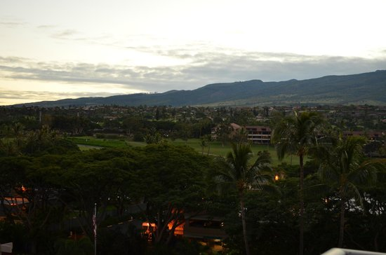 Aston at The Whaler on Kaanapali Beach: Looking towards the west Maui maountains