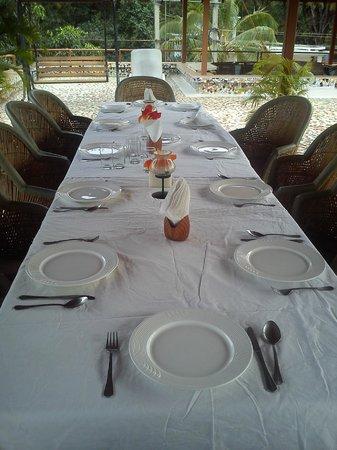 Orritel Village Square: Ужин