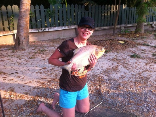 Hua Hin Fishing Lodge: pacu